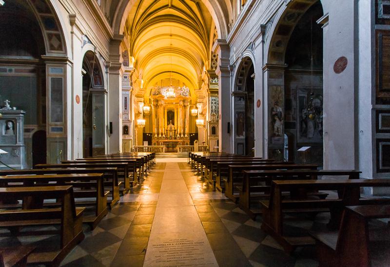 La chiesa della Trinità dei Monti