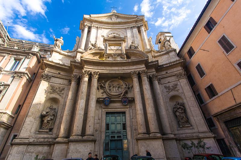 La chiesa di San Marcello al Corso