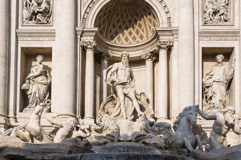 La statua di Oceano di Pietro Bracci