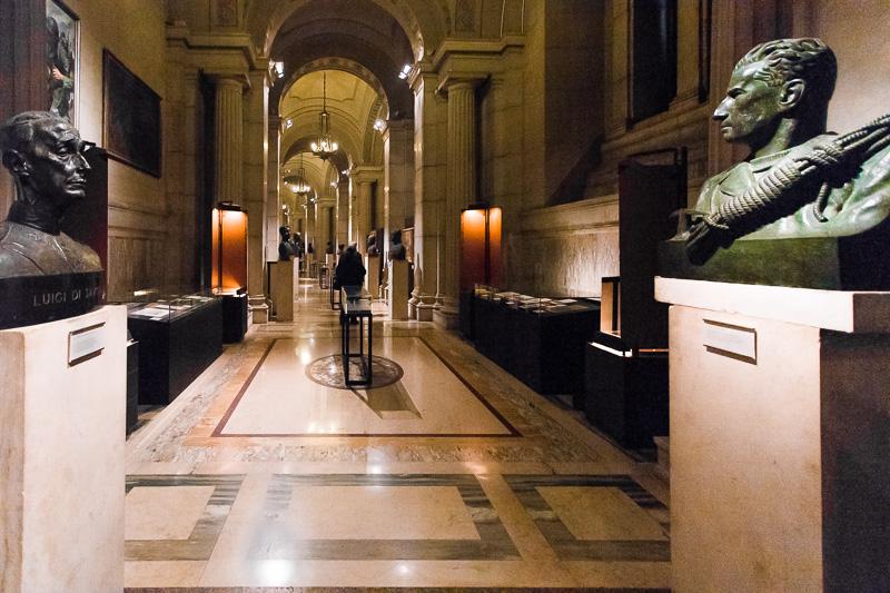 Due mezzi busti nel Museo del Risorgimento al Vittoriano
