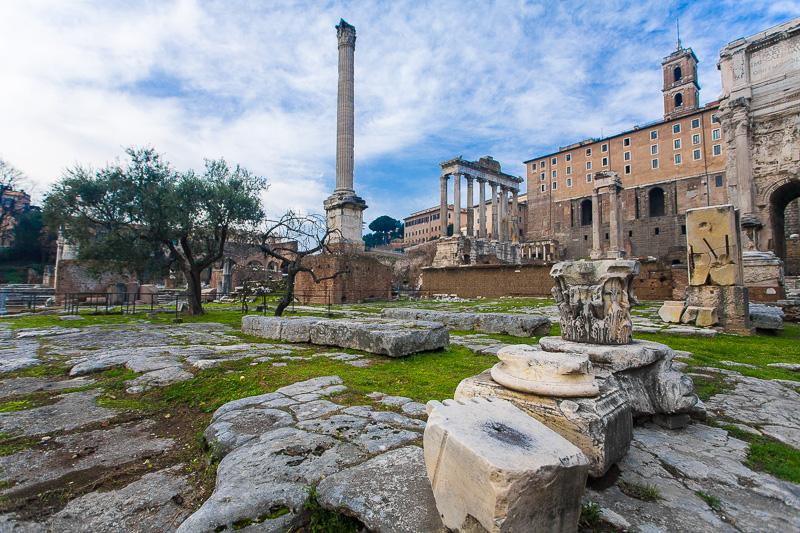 Resti del Foro Romano