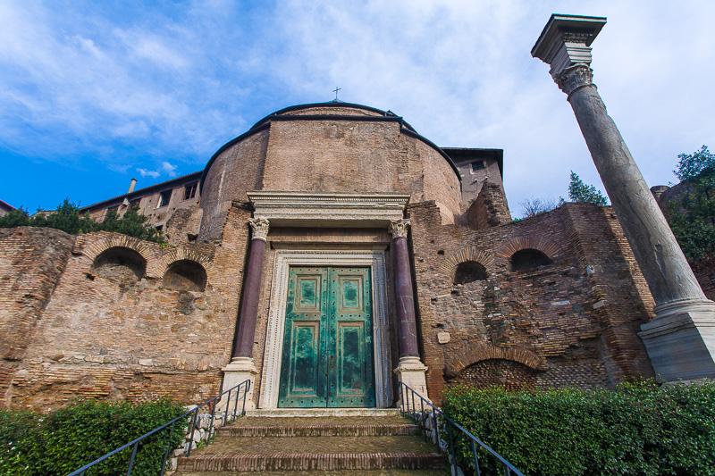 Il tempio di Romolo