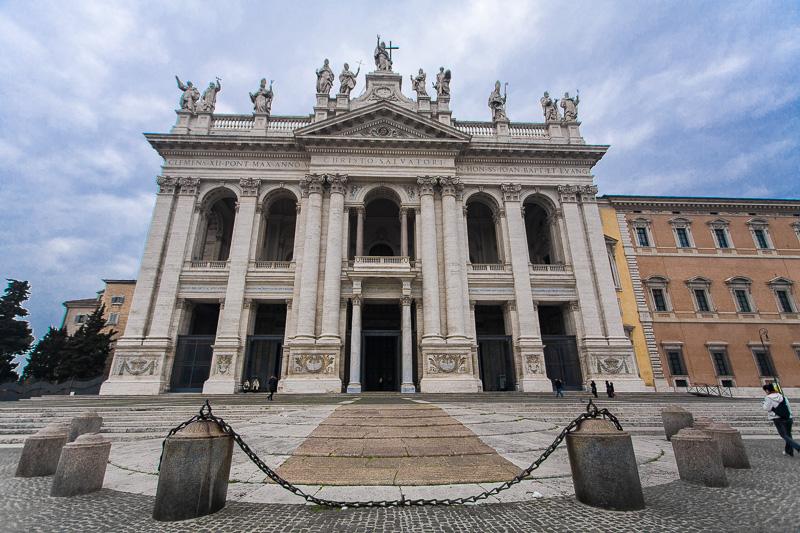 La basilica di San Giovanni in Laterano