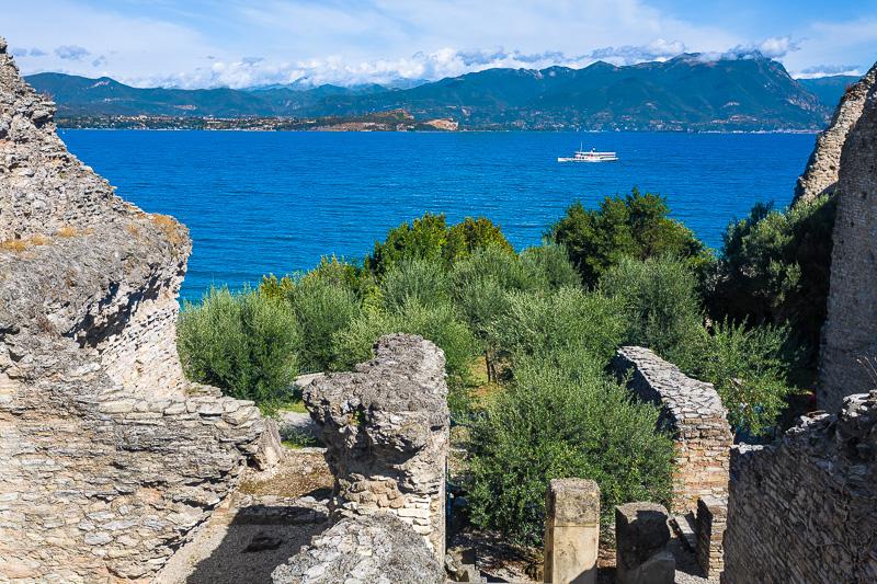 Le sostruzioni della villa romana