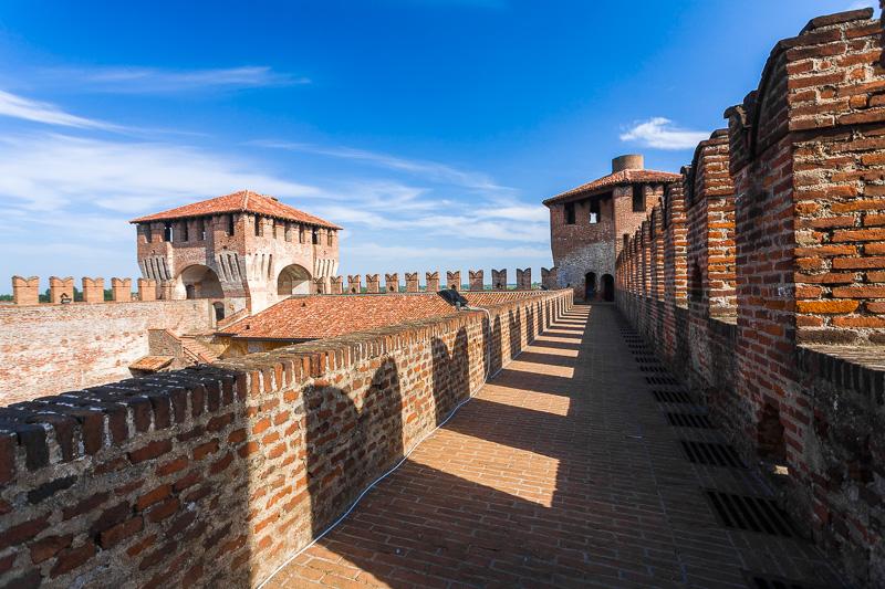 Il cammino di ronda della Rocca Sforzesca
