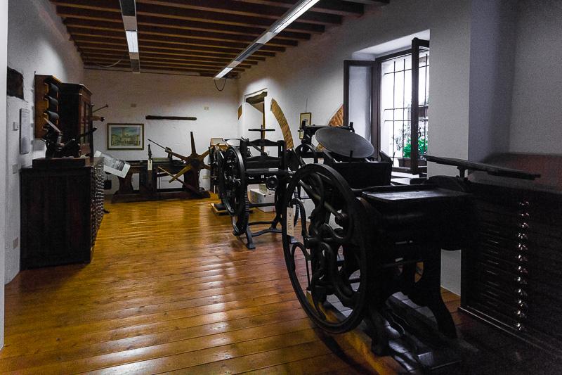 Le macchine da tipografia
