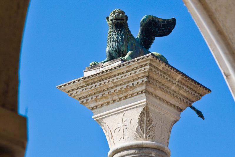 La colonna San Marco Evangelista