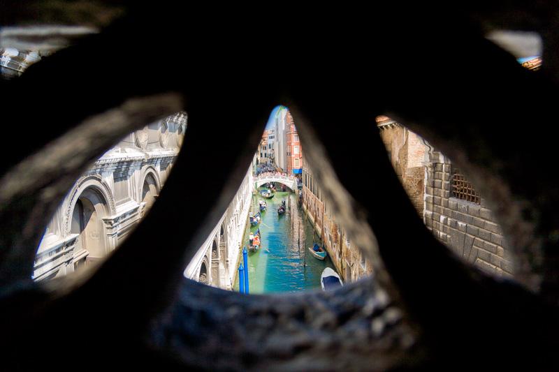 Finestrella del Ponte dei Sospiri