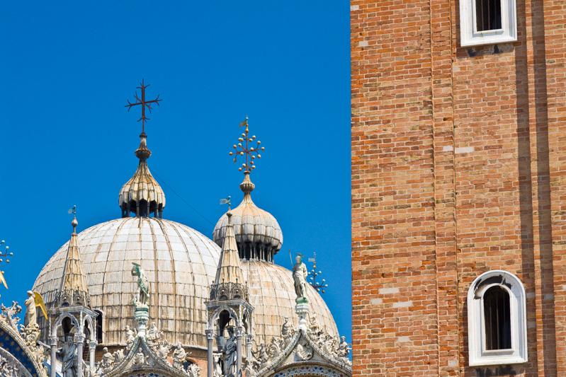 La basilica di San Marco il campanile