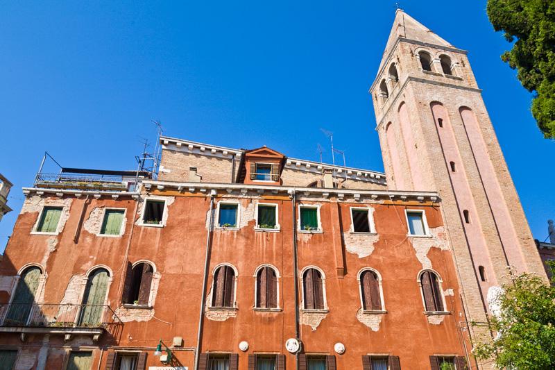 Campanile della chiesa di San Vidal