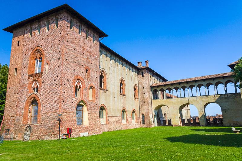 Il mastio del Castello Sforzesco