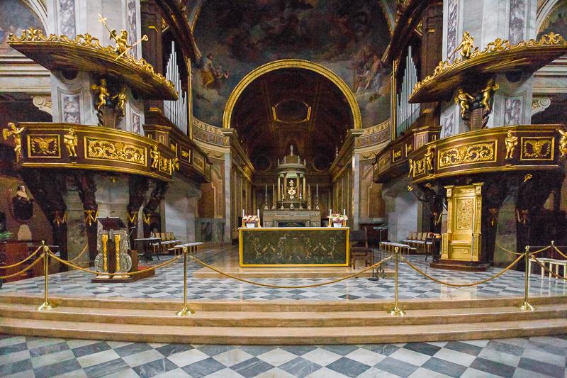 Presbiterio del duomo di Sant'Ambrogio